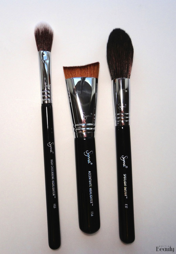 Sigma Beauty Highlight Expert Brush Set Review 2