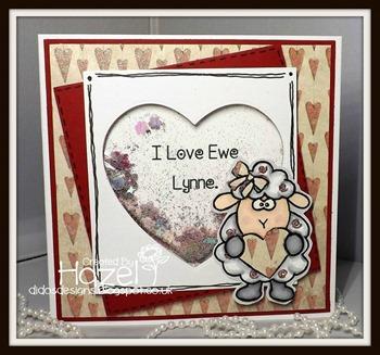 Hazel - I heart you