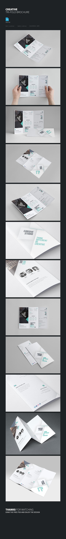 Freebie Clean Brochure Template
