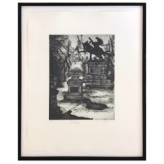 Fraser Signed Aquatint Etching