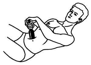 терапия почек с бутылкой