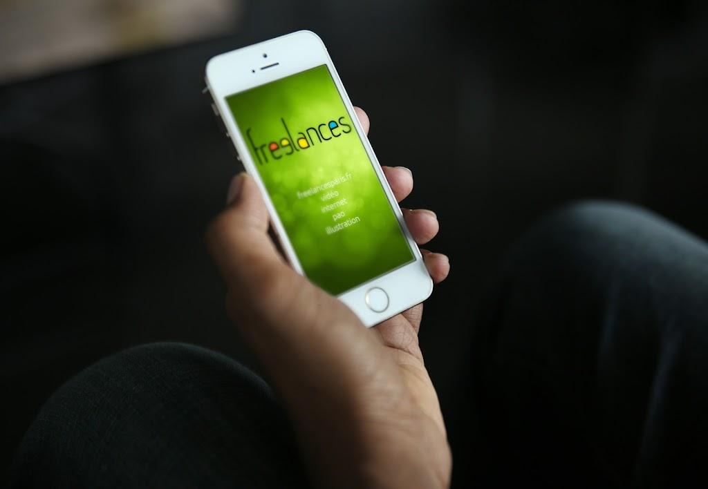 conception images capture écran pour smartphones iPhone 5S sublimer présentation responsive web design // paris +33 06 8528 9977