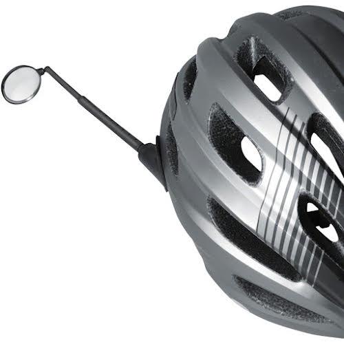 Delta Safety Helmet Mirror - Black