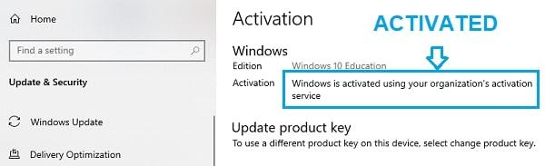 قم بتنشيط windows 10 مجانًا بدون مفتاح المنتج