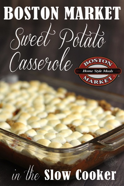 Boston Market Sweet Potato Casserole Crock Pot