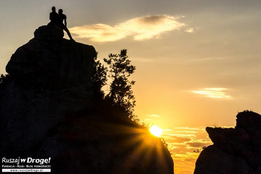 Zakończenie zdjęć z taaakim zachodem słońca!