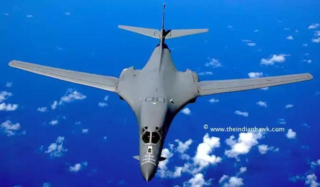Rockwell B-1 Bomber Jet