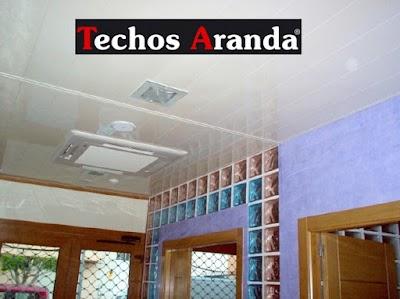 Precio economico de techos baños Madrid