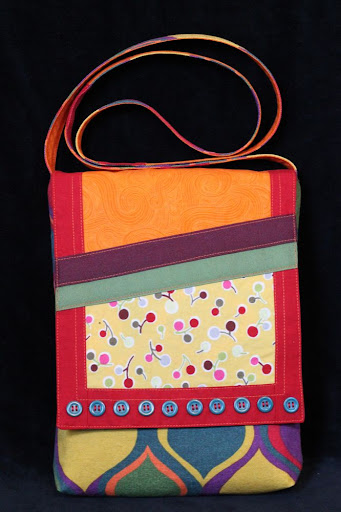 candy-colored bag