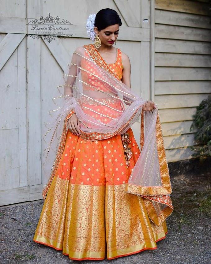 Fashionable And Flattering Banarasi Lehengas We Are Totally Crushing On!