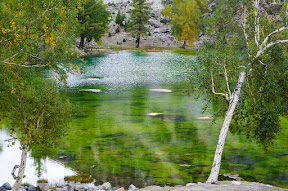 Satrangi Lake (1), Naltar Valley