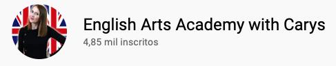 9 canais do YouTube para aprender inglês com falantes nativos -  English Arts Academy with Carys