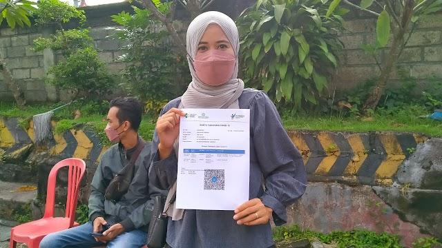 Poliklinik Bhayangkara Polres Klungkung Layani Masyarakat Yang Belum Vaksin Di Hari Minggu