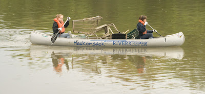 Riverkeeper cleanup from a few years ago.