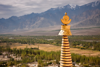 Photo: From the roof of Thikse Monastary, Ladakh, Indian Himalayas