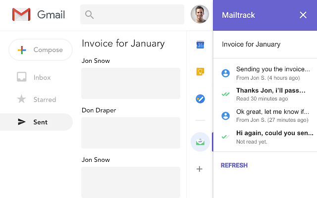 free email tracking for gmail mailtrack