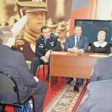 Посещение молодых земляков, которые несут срочную службу в Президентском полку
