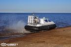Судно на воздушной подушке Christy 6183 - Ходовые испытания | фото №5