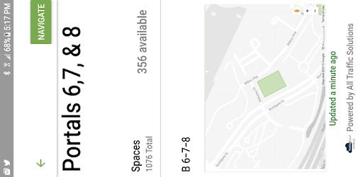 ParkingCloud Mobile, free parking availability for ParkingCloud Customers
