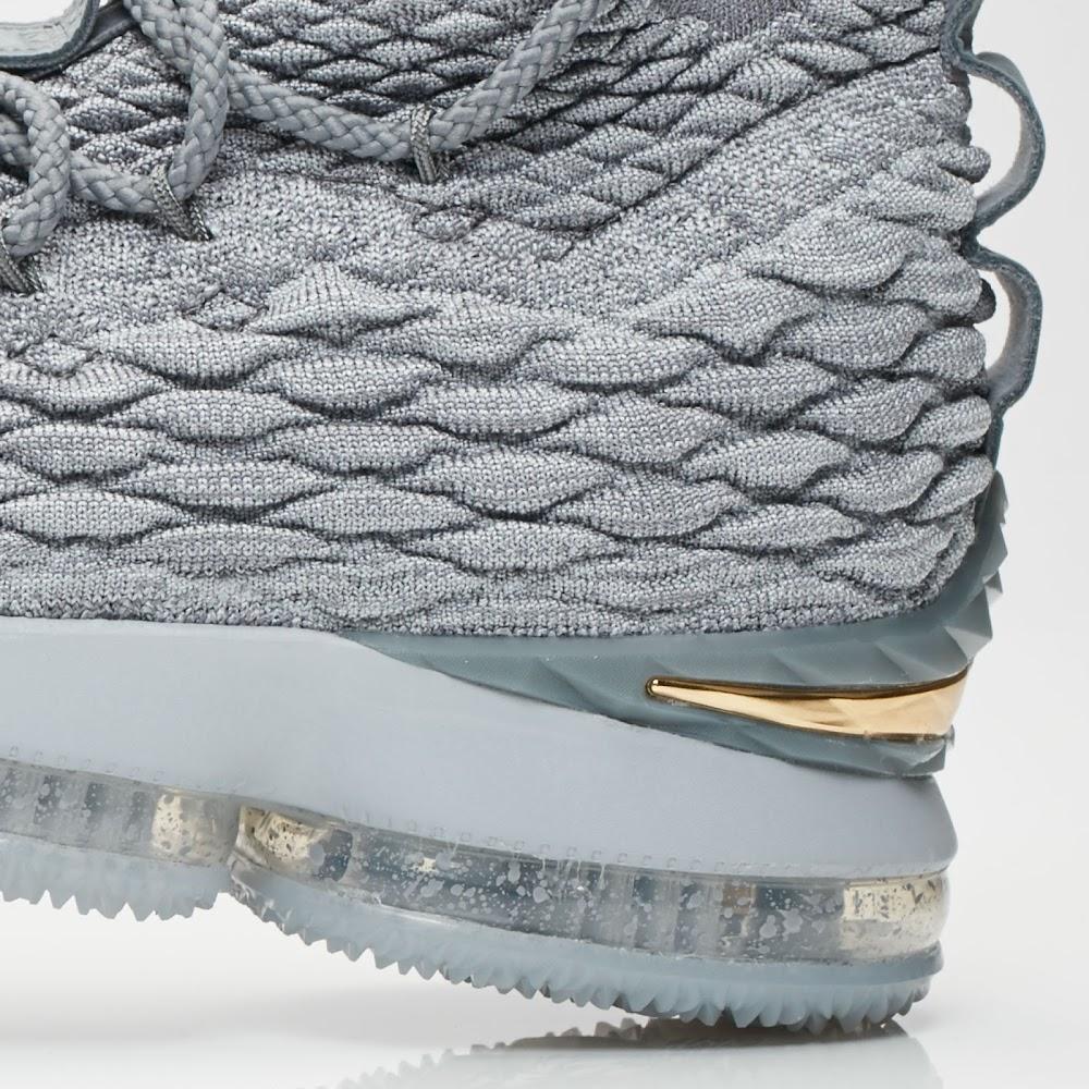 3b19f146dc25 Release Reminder  Nike LeBron 15 Wolf Grey (897648-005)