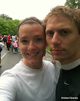 Mike and I before the race.