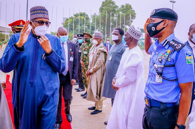 President Buhari travel to London for Medical Check-up