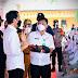 Kapolda Sumut Dampingi Presiden Vaksinasi di Deliserdang