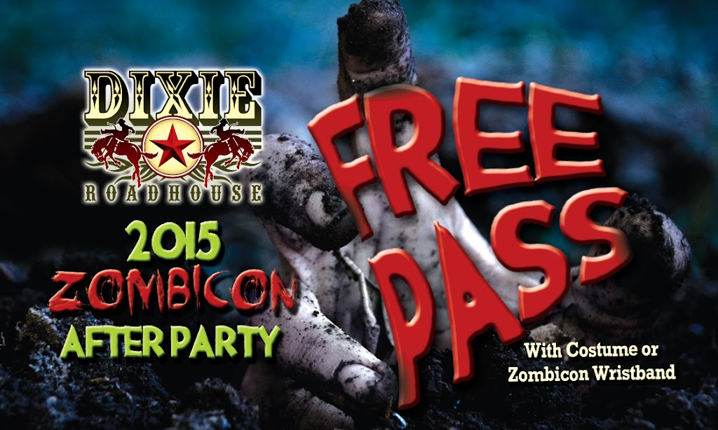 DRH Zombicon AP Free Pass Back