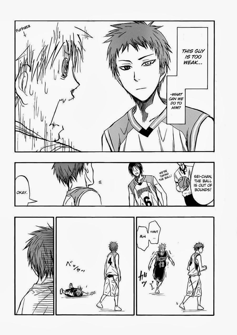 Kuroko no Basket Manga Chapter 240 - Image 02