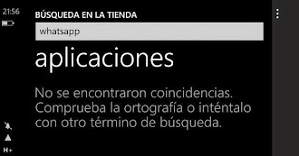 Whatsapp es retirado de Windows Phone Store