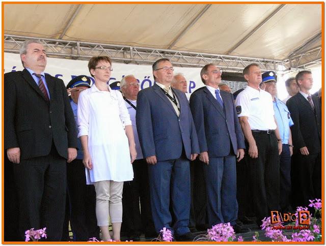 Illusztris vendégek tisztelegtek a polgárőrök előtt Pannonhalmán