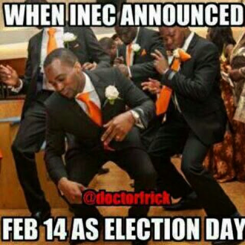 When INEC Announced Feb* 14 as Election Day #picture