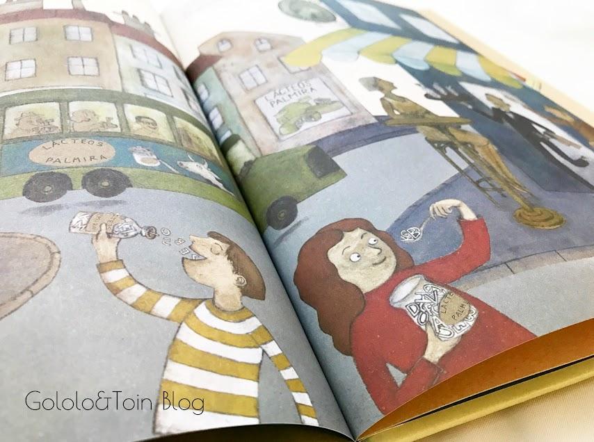 Álbum ilustrado sobre fomento de la lectura