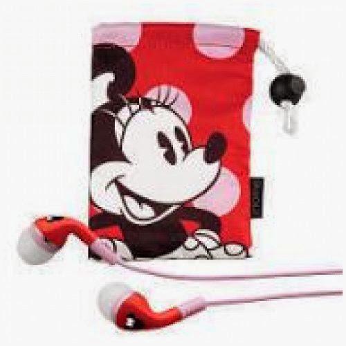 Kiddesigns Minnie Mouse Noise Isolating Earphones EK-DM-M15