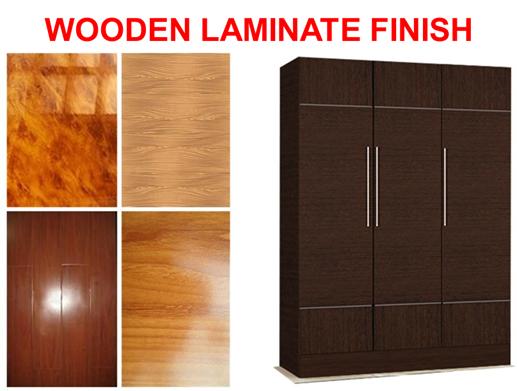 Wooden Laminate finish