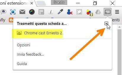 google-cast-estensione