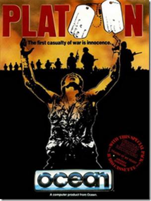 Platoon Amiga Cover