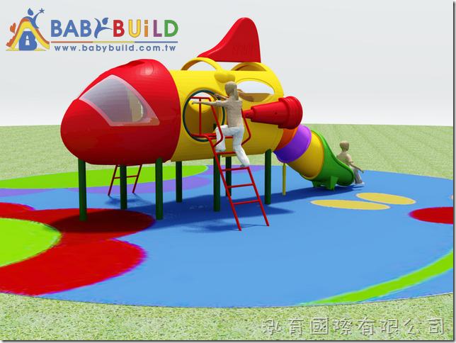 BabyBuild 飛機造型遊具