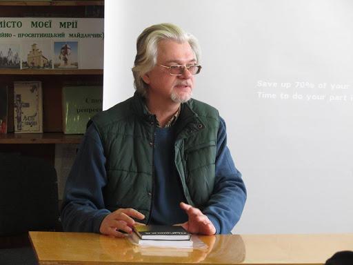 Творча зустріч з Іваном Лучуком у Миколаєві над Дністром