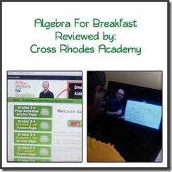 Algebra For Breakfast
