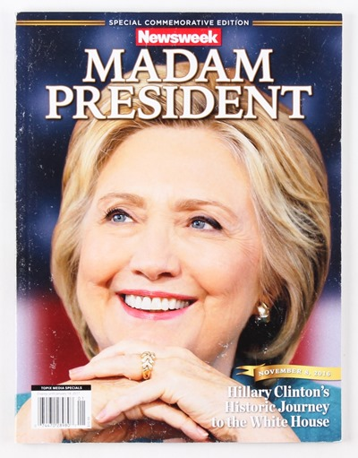 main_1484694656-Hillary-Clinton-Special-Commemorative-Madam-President-Recalled-Newsweek-Magazine-PristineAuction.com