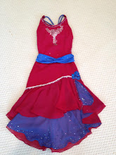 Photo: To buy ( MBCan- Tango  )  To buy reference name of costume, size, qty needed and copy/past photo to Pam@Act2DanceCostumes.com     $125.00   qty (1)   Sizes: (1) Large Child/Small Adult  This dress is the essence of flair and beauty with the vibrant colors and the fullness double layered skirts.  There are over 800 crystals on this dress  Ruby red spandex leotard with  royal blue and ruby red chiffon skirts.  The top skirt has a ruffle that is topped  by fine silver trim. The back has criss cross and horizontal  black and royal blue straps.    Centre front is a clear crystal applique with light siam crystal  accents. The backstraps have sapphire, jet and black diamond Swarovski   crystals. The belt has sapphire and meridian blue crystals.   the top of the side slit has a royal blue sequined rose applique and the slit and underskirt have siam AB and sapphire AB crystals    7 day returns same condition! Paypal/Credit/Western Union accepted.  US shipping $10