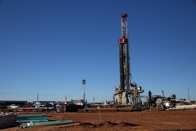A fracking site sits on the outskirts of Midland, Texas, 21 Jan. 2016. Photo: Getty Images