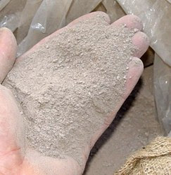 порошок из глины