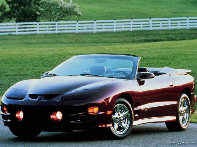 1996 pontiac firebird hatchback specifications pictures. Black Bedroom Furniture Sets. Home Design Ideas