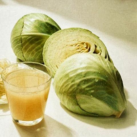 Nước ép rau bắp cải