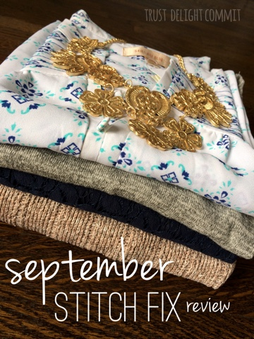Stitch Fix Review September 2015