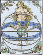 Woodcut From Urania Che Sostiene Universo Nuremberg