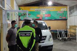 Patroli Gabungan 3 Pilar Pantau Sejumlah Rumah Sakit Rujukan Covid 19 Antisipasi Gangguan Kamtibmas