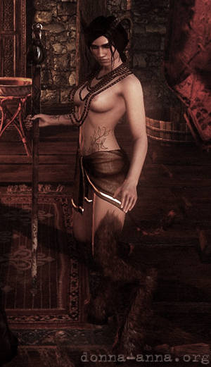 Succubus Witcher 2 - Суккуб из второй главы